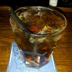 Old Faithful Bacardi & Coke