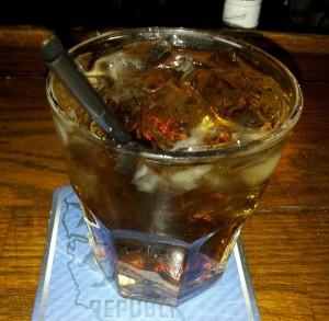 Bacardi Rum and Coke