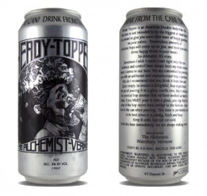 Heady Topper Great Double IPA Beer